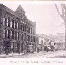 Image of 1977.113.0017 - Opera House Block, Warren Street.