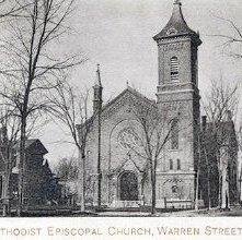 Image of 1977.113.0016 - Methodist Episcopal Church, Warren Street.