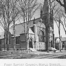 Image of 1977.113.0026 - First Baptist Church, Maple Street
