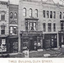 Image of 1977.113.0033 - Times Building, Glen Street.