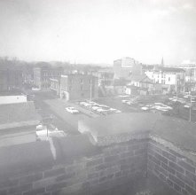 Image of 1977.128.0044 - Rooftops of Glens Falls