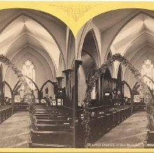 Image of 1977.132.0237 - Interior Church of the Messiah, Glens Falls.