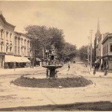 Image of 1977.132.0644 - Warren Street, Fountain Square.