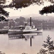 Image of 1977.132.0519 - 840. Steamer Minne-ha-ha, Lake George