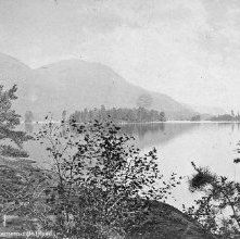 Image of 1977.132.0659 - 880. Lake George, Narrows from Fourteen Mile Island