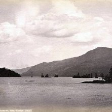 Image of 1977.218.1056 - 251. Lake George - The Narrows, from Phelps' Island