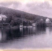 Image of 1977.218.1158 - 265. Lake George. View at Hague