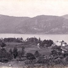 Image of 1977.218.1431 - 322. Hulett's Landing, from hill, Lake George
