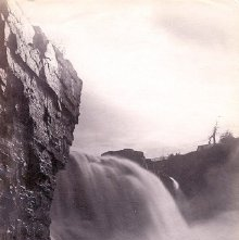 Image of 1977.218.1693 - Rainbow Falls, Au Sable Chasm
