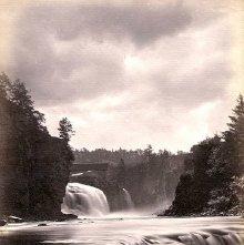 Image of 1977.218.1719 - 378. Birmingham Falls, Au Sable Chasm