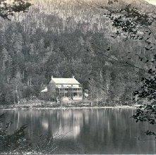 Image of 1977.218.1873 - 422. Cascade House at Edmonds' Ponds, Adirondacks