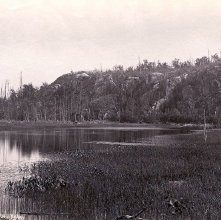 Image of 1977.218.2313 - Saranac River near the Lower Lake