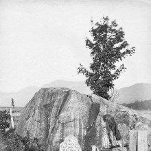Image of 1977.218.0249 - John Brown's grave at North Elba