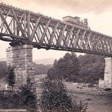 Image of 1977.218.2606 - Adirondack R.R. Bridge across the Sacondaga