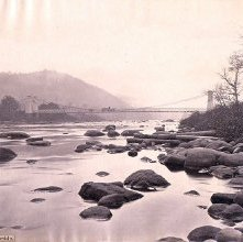 Image of 1977.218.2654 - 669. Suspension Bridge at Riverside