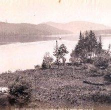 Image of 1977.218.2672 - 677. Lake Placid, East from White Face Inn