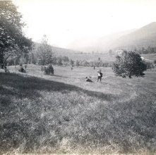 Image of 1977.218.3148 - 732. Ausable Pass from Windybrow, Keene Valley, Adirondacks