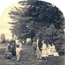 Image of 1977.218.3187 - 736. Croquet at Lake George