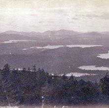 Image of 1977.218.0328 - 68. St. Regis Lake from St. Regis Mountain