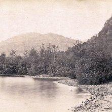 Image of 1977.218.0332 - Twin Mountains, Lake George