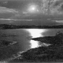 Image of 1977.218.3342 - 746. Raquette Lake, Mouth of the Marion River.