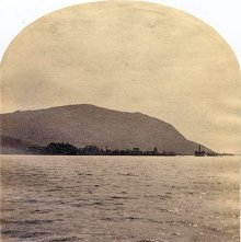 Image of 1977.218.0344 - 71. Meadow Point and the Elephant, from North, Lake George
