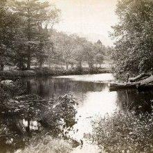 Image of 1977.218.4040 - Bouquet River near Elizabethtown, Adirondacks