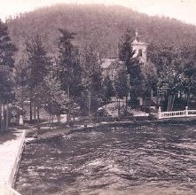 Image of 1977.218.4098 - Pearl Point, Lake George