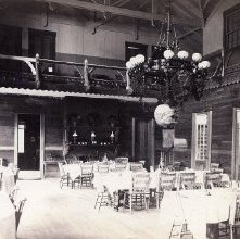 Image of 1977.218.4230 - Horicon Pavilion, Lake George, Dining Room