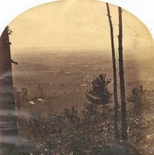 Image of 1977.218.4259 - Southeast from Mount McGregor. Saratoga Lake