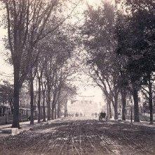 Image of 1977.218.4385 - 984. Glens Falls, Glen Street, down from Monument.