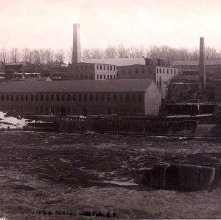 Image of 1977.218.4446 - 1017. Glens Falls Paper Mill, 1884.