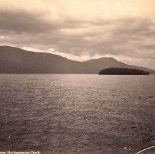Image of 1977.218.4886 - 1153. Lake George, Buck Mt. from the Sagamore
