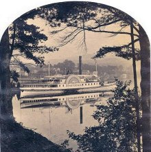 Image of 1977.218.5003 - 1264. Steamer Horicon, Lake George, 1877