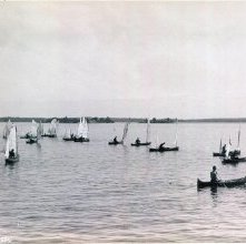 Image of 1977.218.5020 - 1289. Sailing Race, A.C.A., 1885