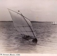 "Image of 1977.218.5168 - 1417. English ""Pearl"" W. Stewart, Master, 1886"