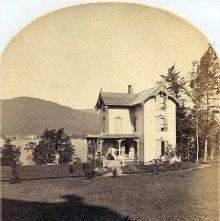 Image of 1977.218.5260 - 1720. Leslie Cottage, Fort George Hotel, Lake George