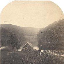 "Image of 1977.218.5324 - 2246. Lake Luzerne from ""The Wayside"""