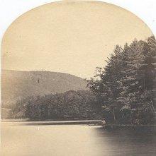 Image of 1977.218.5326 - Lake Luzerne - Looking East
