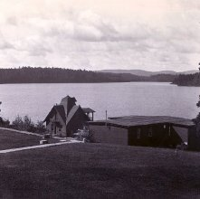 Image of 1977.218.5532 - Boathouse at Childwold Park