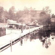 Image of 1977.218.5847 - Steamer Towahloondah, Blue Mountain Lake