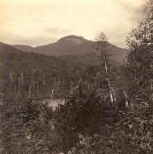 Image of 1977.218.5990 - 140. Basin Mountain from Upper Ausable Pond