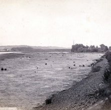 Image of 1977.218.0767 - 154. The Hudson River - Low Tide at Catskill