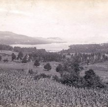 Image of 1977.218.0921 - 90. Lake George, from the South
