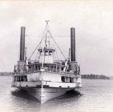 Image of 1977.221.0038 - Steamboat Vermont, Lake Champlain