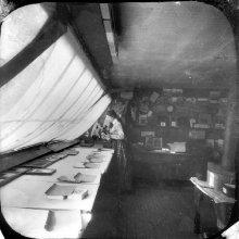 Image of 1978.098.0060 - Helen Stoddard in Stoddard's Studio.