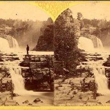 Image of 1980.009.0018 - 559. Birmingham Falls from Horseshoe Falls