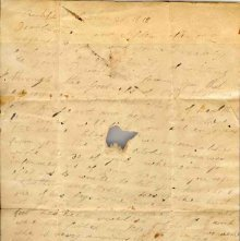 Image of 1983.030.0084 - Letter