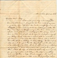 Image of 1983.030.0113 - Letter