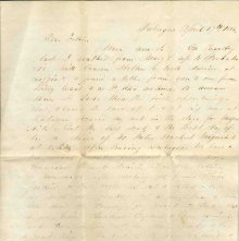 Image of 1983.030.0127 - Letter